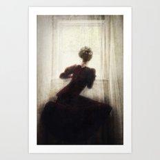 The Long Wait Art Print