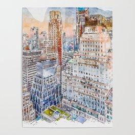 New York Sky Poster