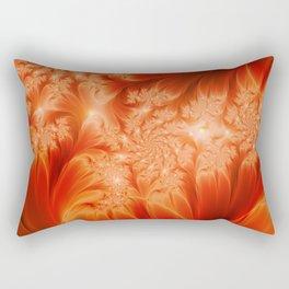 Fractal The Heat of the Sun Rectangular Pillow