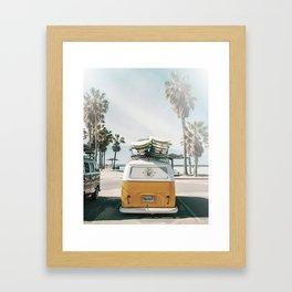 Summer Van Framed Art Print