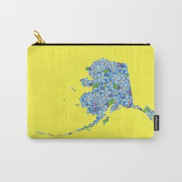 Alaska in Flowers Carry-All Pouch