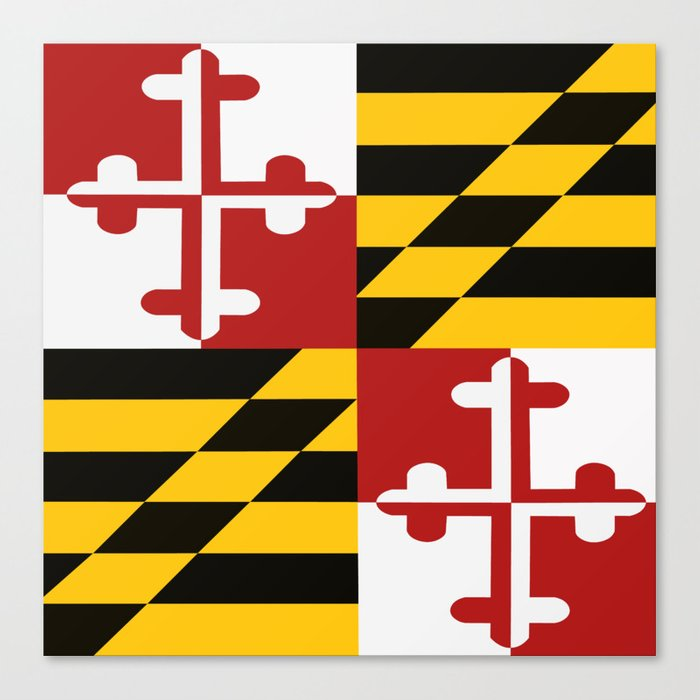 Maryland Pride Leinwanddruck