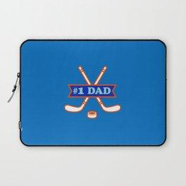 #1 Dad - Hockey Laptop Sleeve