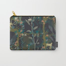 Tropical wild animals in the jungle Carry-All Pouch