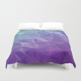 Abstract painting color texture Duvet Cover