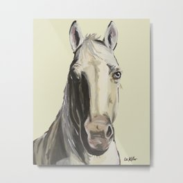 Farm Animal Art, Horse Art Metal Print