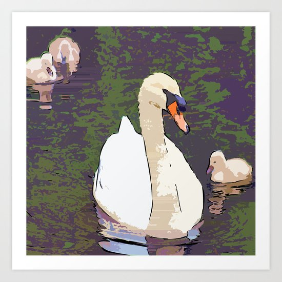 Familly Moments Art Print