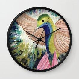 The Hummingbird Wall Clock
