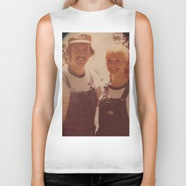 Mom and dad honeymoon Biker Tank