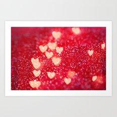 Be My Valentine Art Print