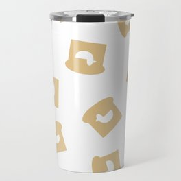 Duck in Bread Travel Mug