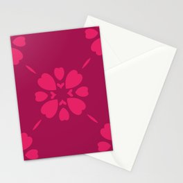Abstract geometric Pattern 87 Stationery Cards