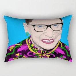 Blue RBG Rectangular Pillow