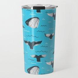 Whale Tails (The Humpback Kind!) Travel Mug
