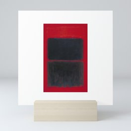 1957 Light Red Over Black by Mark Rothko Mini Art Print
