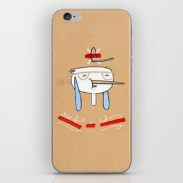 """One of those days when you say  """" what a day"""" iPhone Skin"""