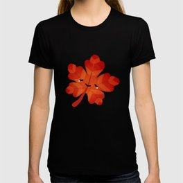Sad fallen leaves T-shirt