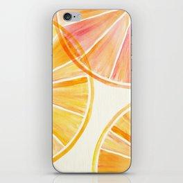 Sunny Citrus iPhone Skin