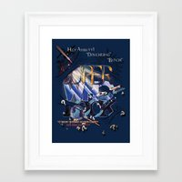 superwholock Framed Art Prints featuring Superwholock by RooDesign