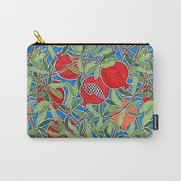 Pomegranate Branches and Fruit Carry-All Pouch