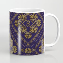 seamless pattern in eastern style Coffee Mug