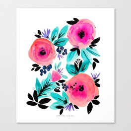 Savannah Flower Canvas Print