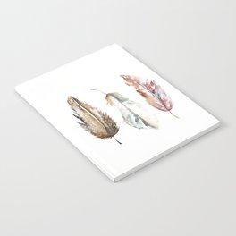 Boho FEATHERS Notebook