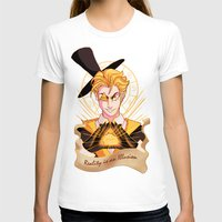 bill cipher T-shirts featuring Mr. Cipher by Palolabg