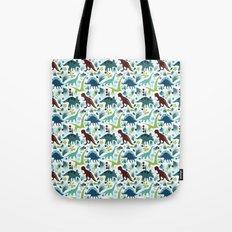 Dinosaur Days (Smaller Print) Tote Bag