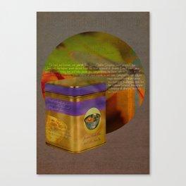 The Smug Dolphin Company Tea Canvas Print