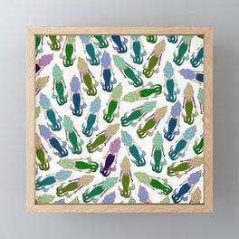 Mermaid Party Framed Mini Art Print