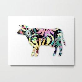 COW-P4 Metal Print