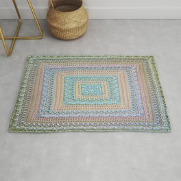 Timeless Crochet Rug