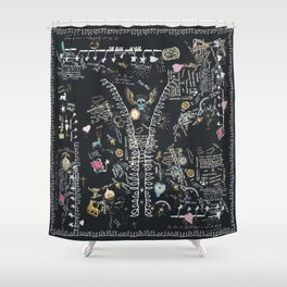 Alchemist tree of life tribal Shower Curtain