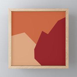 Minimalism Abstract Colors #16 Framed Mini Art Print