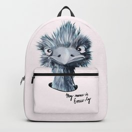 My name is EMU-ly Backpack
