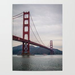 The great Golden Gate bridge Poster