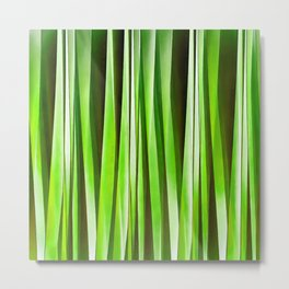 Tropical Green Riverweed Metal Print