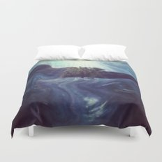 Waking to Wisdom Duvet Cover