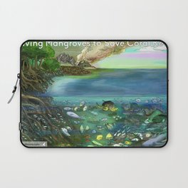 Save the Mangroves! Laptop Sleeve