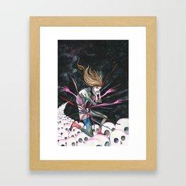 Jut Framed Art Print
