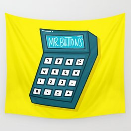 Mr Buttons Wall Tapestry
