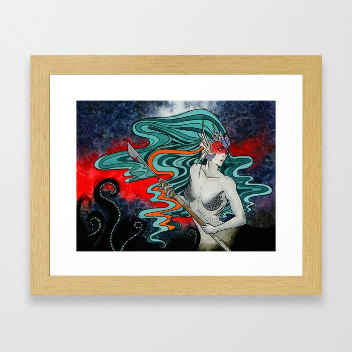 Sanguis Framed Art Print