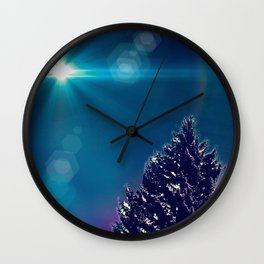 Snowtopian Dysfall Wall Clock