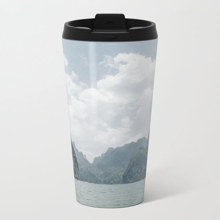 Tropical Thailand Metal Travel Mug
