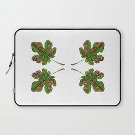 Steampunk fig leaf Laptop Sleeve