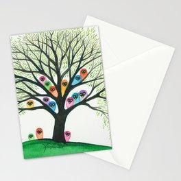 Shasta Owls in Tree Stationery Cards