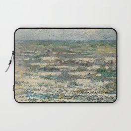The Sea at Katwijk by Jan Toorop Laptop Sleeve