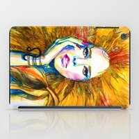 zodiac iPad Cases featuring Leo Zodiac by Slaveika Aladjova