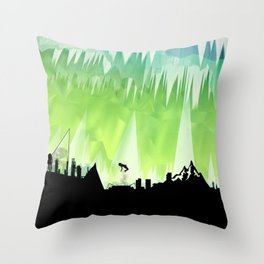 Dante's Inferno: Circle of Lust Throw Pillow